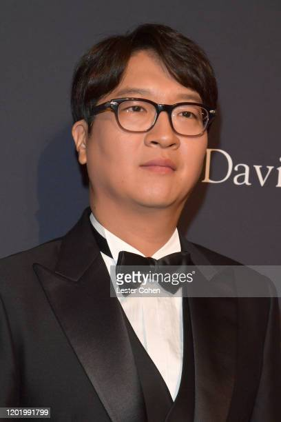 of CEO of Big Hit Entertainment Lenzo Yoon attends the PreGRAMMY Gala and GRAMMY Salute to Industry Icons Honoring Sean Diddy Combs on January 25...