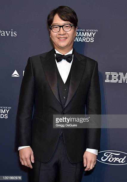 of CEO of Big Hit Entertainment Lenzo Yoon attends the PreGRAMMY Gala and GRAMMY Salute to Industry Icons Honoring Sean Diddy Combs at The Beverly...