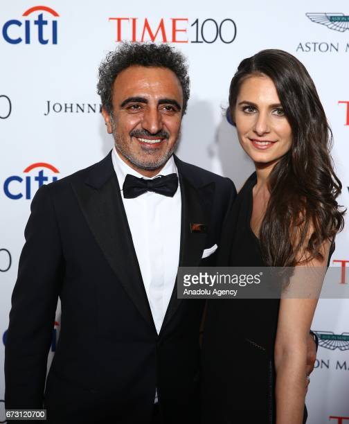 CEO of Chobani Company Hamdi Ulukaya attends the 2017 TIME 100 Gala at Jazz at Lincoln Center in New York United States on April 25 2017