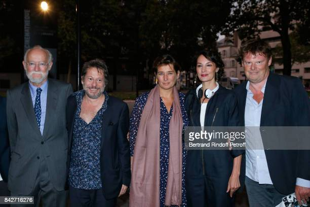 CEO of Cinema Gaumont Nicolas Seydoux actor/director Mathieu Amalric Director of Gaumont Sidonie Dumas Seydoux actress Jeanne Balibar and General...