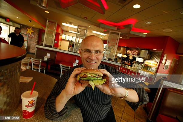 CEO of CKE Restaurants Andy Puzder is photographed for Los Angeles Times on June 1 2011 in Los Angeles California CREDIT MUST READ Al Seib/Los...
