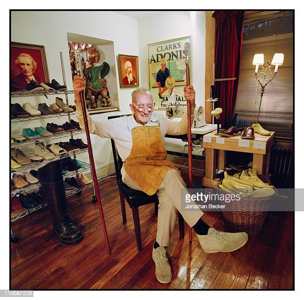 CEO of Clark Shoe Company Nathan Clark is photographed for Vanity Fair Magazine on January 10 2009 in New York City Published image