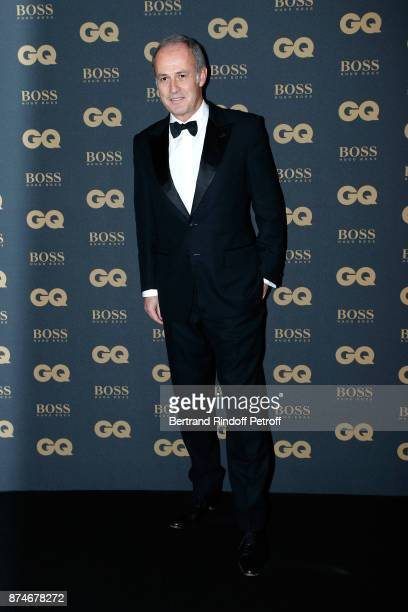CEO of Condenast France Xavier Romatet attends the GQ Men of the Year Awards 2017 at Le Trianon on November 15 2017 in Paris France