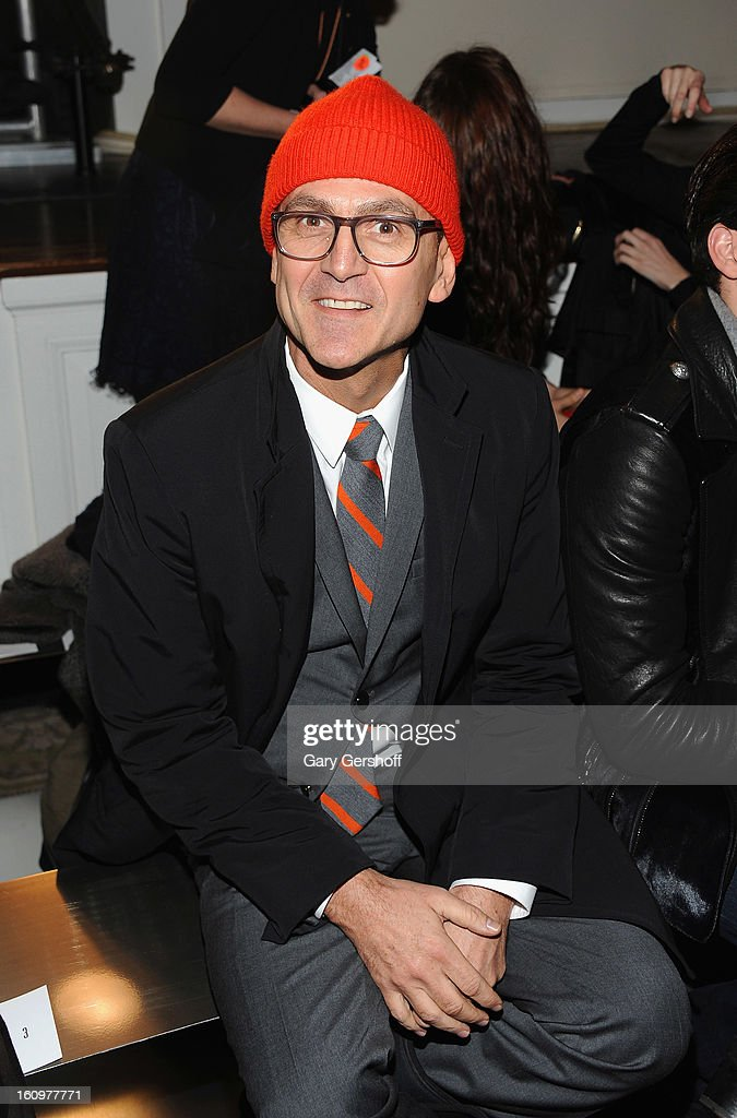 CEO of Council of Fashion Designers of America, Steven Kolb attends Jason Wu during Fall 2013 Mercedes-Benz Fashion Week on February 8, 2013 in New York City.