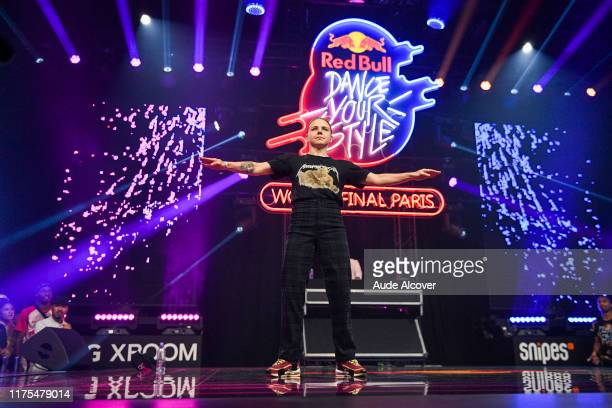 JAJA of Czech Republic during the Red Bull Dance Your Style Finals at Grande Halle de La Villette on October 12 2019 in Paris France