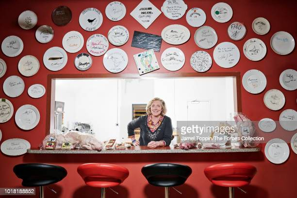 CEO of D'Artagnan Foods Ariane Daguin is photographed for Forbes Magazine on April 9 2018 in Union New Jersey PUBLISHED IMAGE CREDIT MUST READ Jamel...