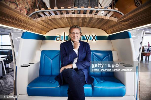 CEO of data firm Alteryx Dean Stoecker is photographed for Forbes Magazine on August 21 2019 in Irvine California PUBLISHED IMAGE CREDIT MUST READ...
