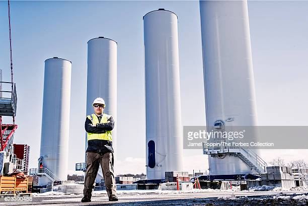 CEO of Deepwater Wind Jeff Grybowski is photographed for Forbes Magazine on April 1 2016 in Providence Rhode Island CREDIT MUST READ Jamel Toppin/The...