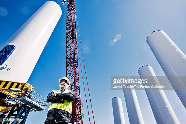 CEO of Deepwater Wind Jeff Grybowski is photographed for Forbes Magazine on April 1 2016 in Providence Rhode Island PUBLISHED IMAGE CREDIT MUST READ...