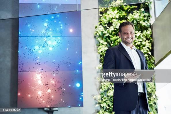 prestazione affidabile abbigliamento sportivo ad alte prestazioni prestazione affidabile CEO of Delos, Paul Scialla is photographed for Forbes ...