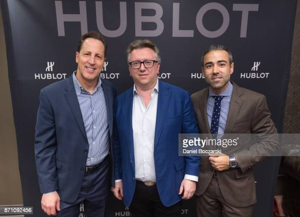 Of Development at Illinois Holocaust Museum & Education Center Ken Cooper, Manager of Geneva Seal Alex Kats and Managing Director of Hublot North...