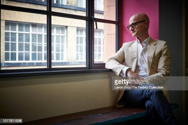 CEO of digital healthcare company Babylon Ali Parsa is photographed for Forbes Magazine on June 21 2018 in London England CREDIT MUST READ Levon...
