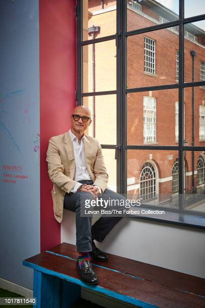 CEO of digital healthcare company Babylon Ali Parsa is photographed for Forbes Magazine on June 21 2018 in London England PUBLISHED IMAGE CREDIT MUST...