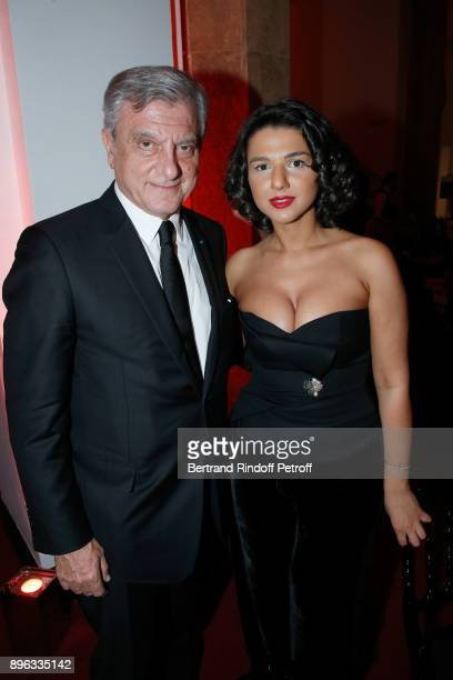 CEO of Dior Sidney Toledano and Pianist Khatia Buniatishvili attend the Gala evening of the PasteurWeizmann Council in Tribute to Simone Veil at...