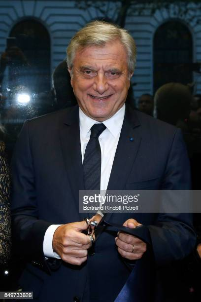 CEO of Dior Sidney Toledano attend the Inauguration of the Dior showcases at Galeries Lafayette for Christian Dior celebrates 70 Years of Creation at...