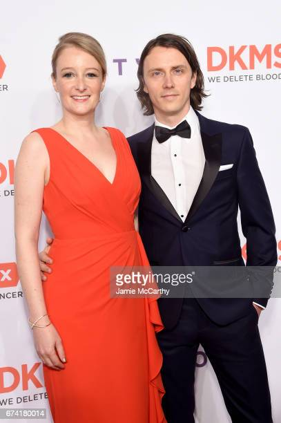 CEO of DKMS Carina Ortel and Henning Manninga attend 11th Annual DKMS BIG LOVE Gala on April 27 2017 in New York City