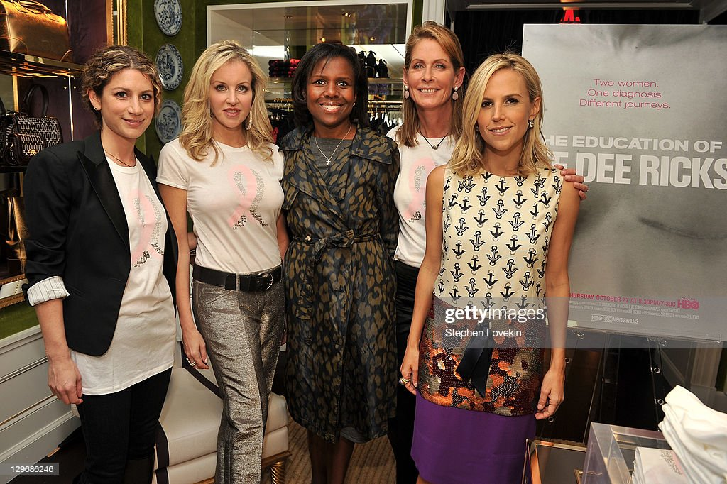 Tory Burch And HBO Launch The CYNTHIA SHIRT To Celebrate HBO Documentary The Education Of Dee Dee Ricks And Benefit The Susan G. Komen Cynthia Fund