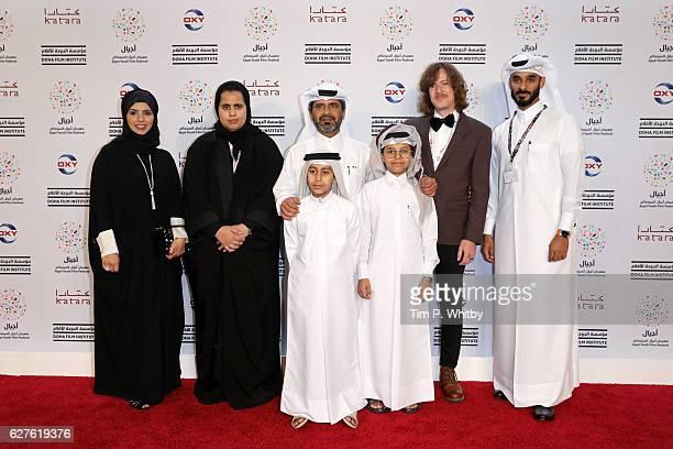 CEO of Doha Film Institute Fatma Al Remaihi AJ Al Thani Ahmad Nasser Afif Alyafei Justin Kramer and Chief Administrative Officer of Doha Film...