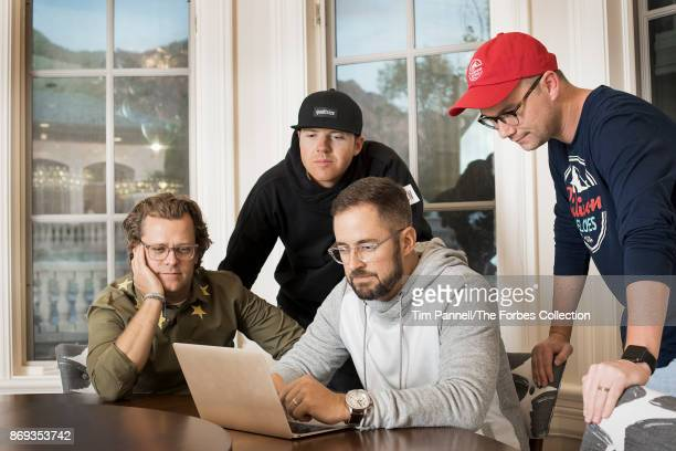 CEO of Domo Josh James CEO of Qualtrics Ryan Smith CEO of Pluralsight Aaron Skonnard and executive director of Silicon Slopes Clint Betts are...