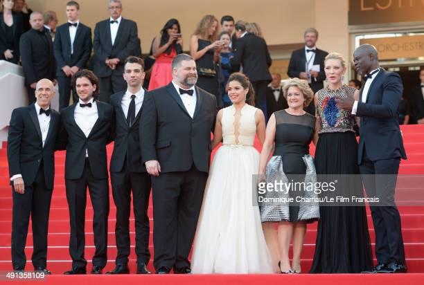 CEO of DreamWorks Animation Jeffrey Katzenberg actors Kit Harington Jay Baruchel director Dean DeBlois actressAmerica Ferrera producer Bonnie Arnold...
