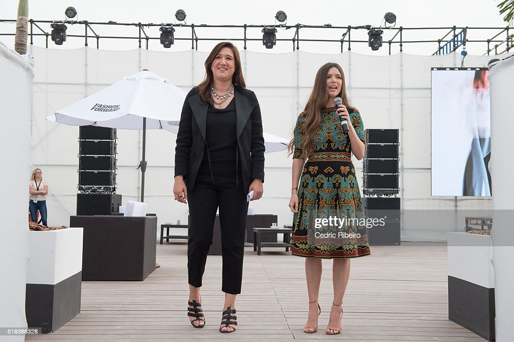 Ceo Of Dubai Design And Fashion Council Nez Gebreel And Style Com News Photo Getty Images