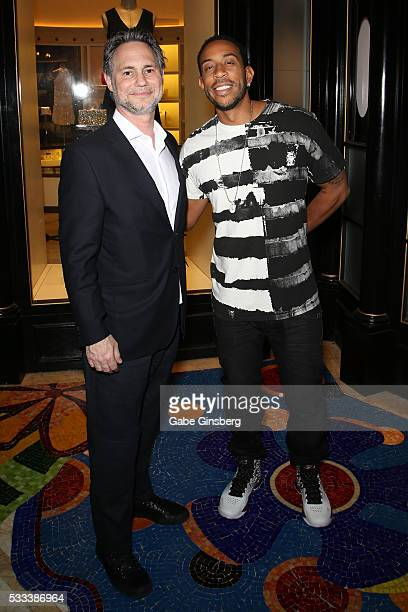 CEO of DuJour Media Jason Binn and recording artist Ludacris attend Billboard Music Awards KickOff Party with CEO John Amato hosted by DuJour Media's...