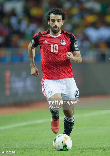 SALAH of Egypt during the CAN 2017 FINAL between Cameroon and Egypt at Stade de L'Amitie on February 05 2017 in Libreville Gabon