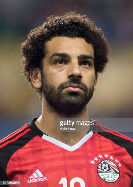 SALAH of Egypt during the semifinal match between Burkina Faso and Egypt at Stade de L'Amitie on February 01 2017 in Libreville Gabon