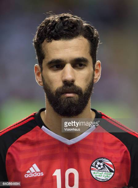 BEKHIT of Egypt during the semifinal match between Burkina Faso and Egypt at Stade de L'Amitie on February 01 2017 in Libreville Gabon