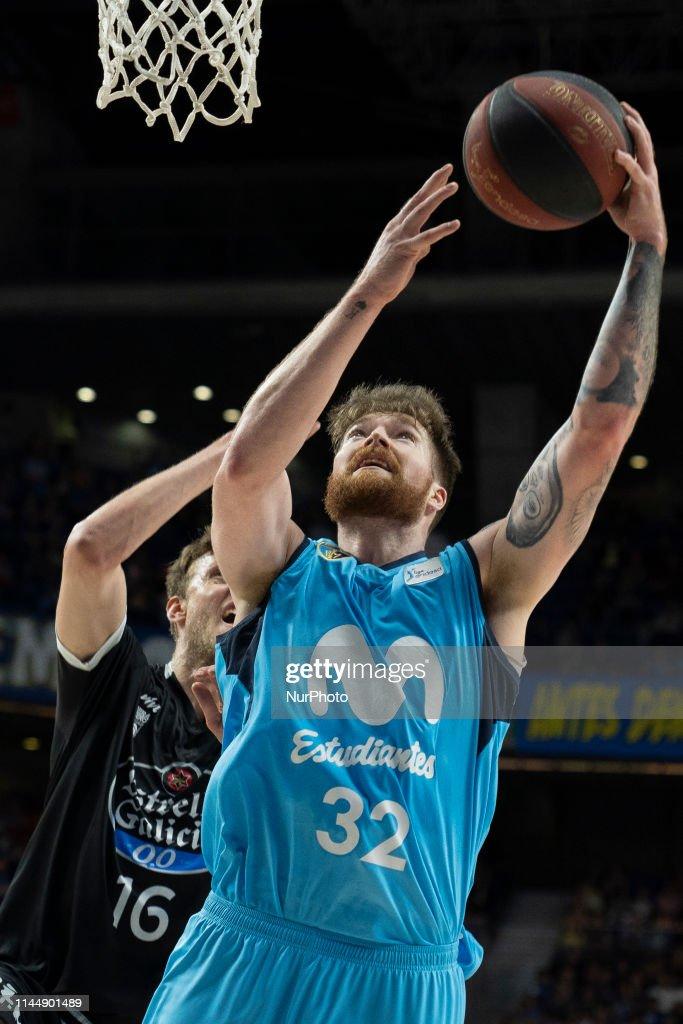 ESP: Movistar Estudiantes v Monbus Obradoiro - ACB Basketball League