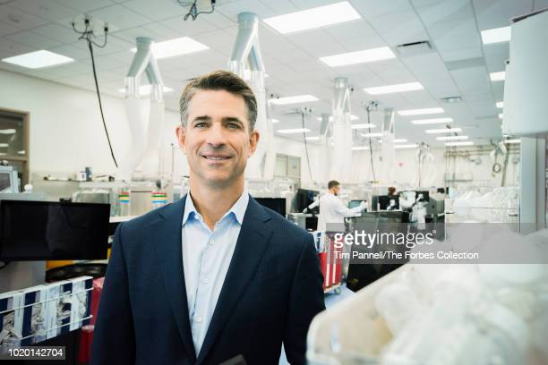 CEO of Exact Sciences Kevin Conroy is photographed for Forbes Magazine on June 20 2018 in Madison Wisconsin PUBLISHED IMAGE CREDIT MUST READ Tim...