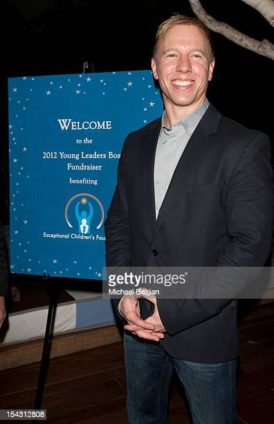 Of Exceptional Children's Foundation Scott Bowling attends Exceptional Children's Foundation Fundraising Gala at SkyBar at the Mondrian Los Angeles...