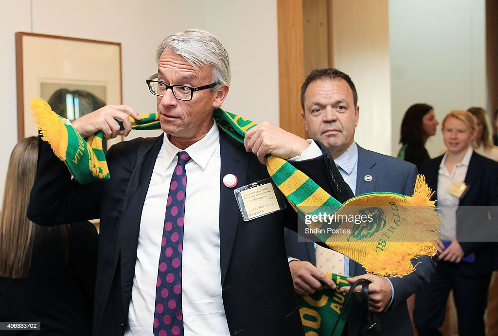 Socceroos Parliament Visit