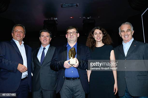 CEO of FICAM Thierry de Segonzac General Director of AUDIENS Patrick Bezier Awarded of 'Cesar et Techniques 2015' CEO of POLYSON POST PRODUCTION...