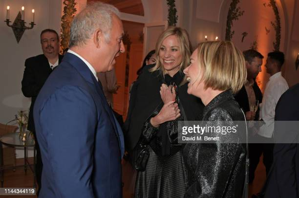 CEO of Finch Partners Charles Finch Kate Driver and Mariella Frostrup attend the 10th Annual Filmmakers Dinner hosted by Charles Finch Edward...