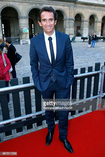 CEO of Fnac Alexandre Bompard attends 'La Traviata' Opera en Plein Air produced by Benjamin Patou and 'Moma Event' Held at Hotel Des Invalides on...