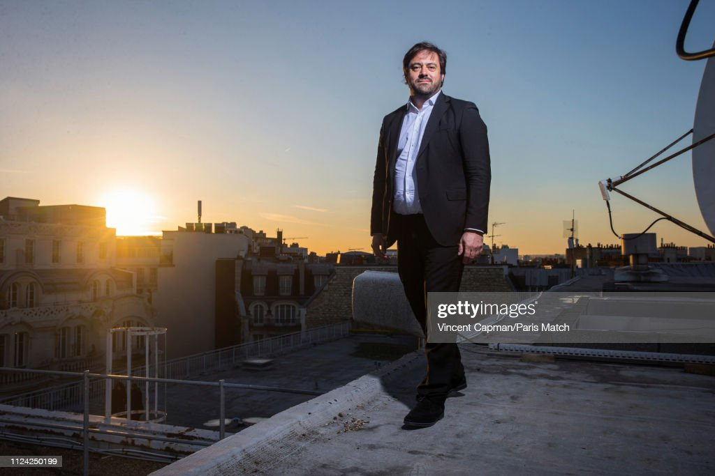 Ceo Of Fnac Darty Enrique Martinez Is Photographed For Paris Match
