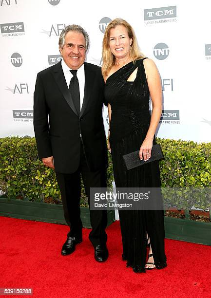 CEO of Fox Filmed Entertainment Jim Gianopulos and Ann Gianopulos attend American Film Institute's 44th Life Achievement Award Gala Tribute to John...