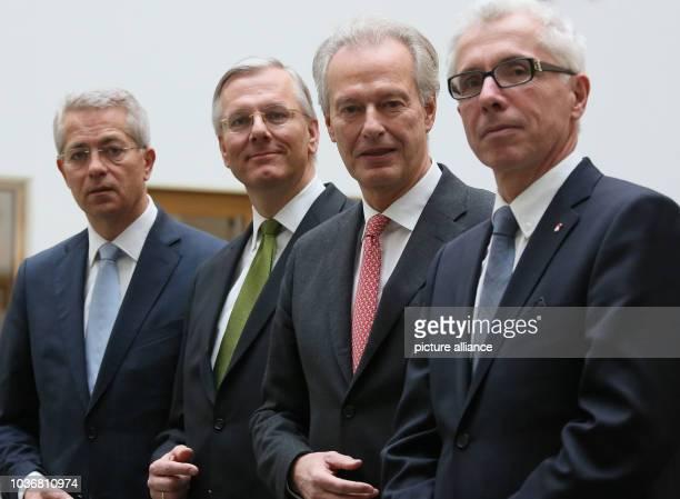 Of Fraport AG Stefan Schulte , CEOof Lufthansa Christoph Franz, President of the Federal Association of German Aviation Industry e.V. Klaus-Peter...