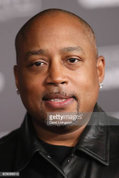 CEO of FUBU Daymond John arrives at the premiere of Walt Disney Pictures and Lucasfilm's Rogue One A Star Wars Story at the Pantages Theatre on...