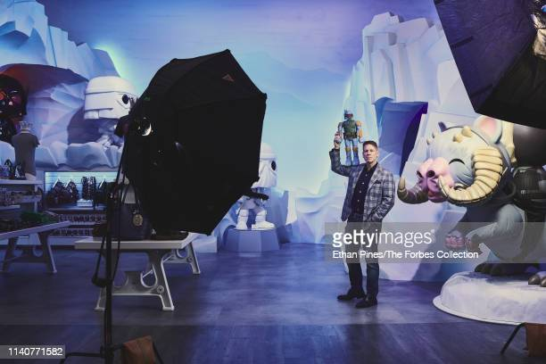 CEO of Funko Brian Mariotti is photographed for Forbes Magazine on October 17 2018 in Everett Washington CREDIT MUST READ Ethan Pines/The Forbes...