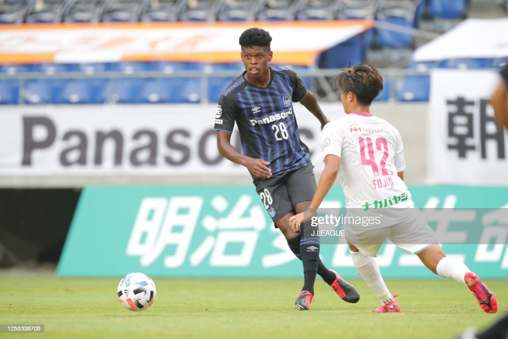 Jefferson Of Gamba Osaka U 23 In Action During The J League Meiji News Photo Getty Images