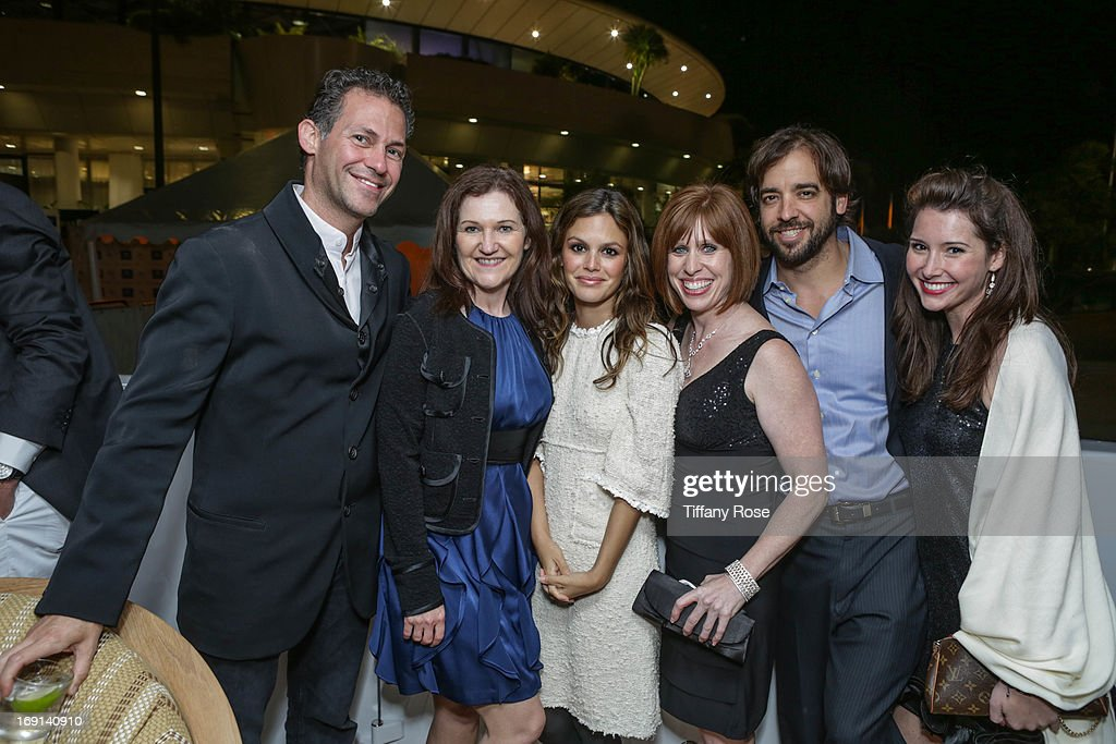 CEO of GBK Productions Gavin Keilly, Wendy Patriquin, Actress Rachel Bilson, Kristan Willingham, Marc Chamberlin and Ashley Foerster attend My Yacht Party sponsored by Sparkling Hill Resort on May 19, 2013 in Cannes, France.