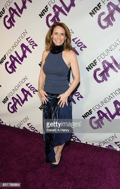CEO of GENYouth Alexis Glick attends the 2017 NRF Foundation Gala at Pier Sixty at Chelsea Piers on January 15 2017 in New York City