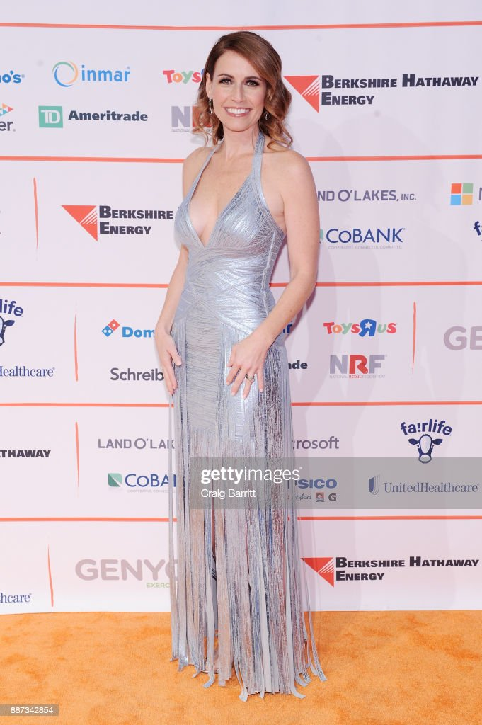 CEO of GENYOUth Alexis Glick attends the Second Annual GENYOUth Gala at Intrepid Sea-Air-Space Museum on December 6, 2017 in New York City.