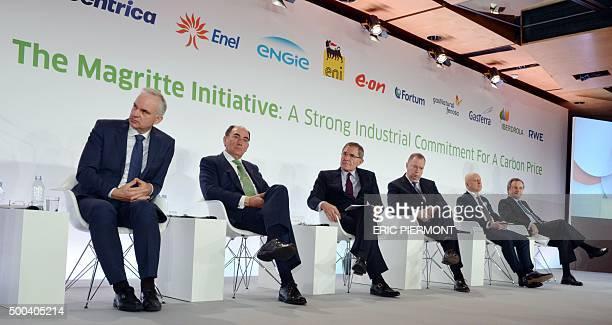 CEO of German power group EON Johannes Teyssen President of Spanish energy group Iberdrola Ignacio Galan French electric utility group Engie CEO...
