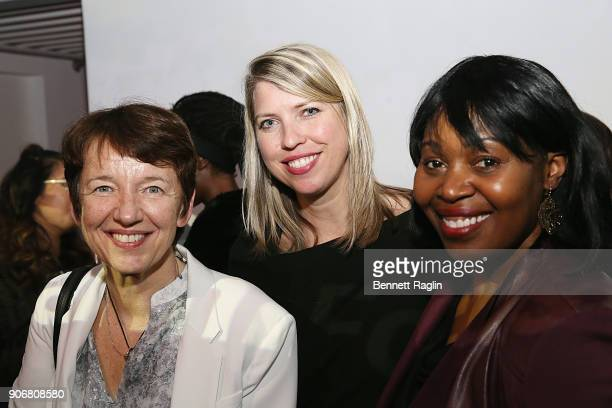 CEO of Getty Images Dawn Airey and guests attend the Getty Images 2017 Year In Focus client event on January 18 2018 in New York City