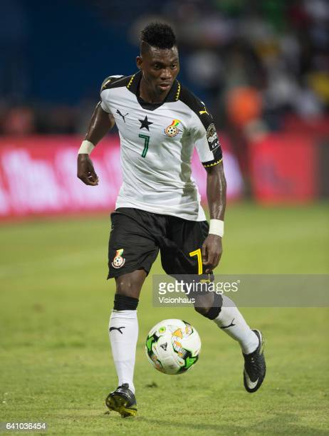 ATSU of Ghana during the Semi Final match between Cameroon and Ghana at Stade Franceville on February 02 2017 in Franceville Gabon