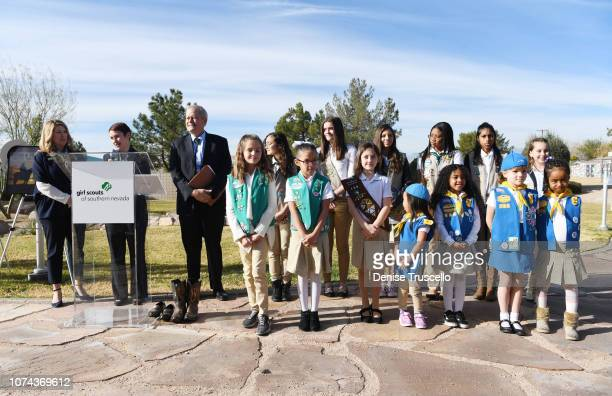 CEO of Girl Scouts Of Southern Nevada Kimberly Trueba Trustree of the Charles and Phyllis M Frias Charitable Trust John H Mowberay and Chief...