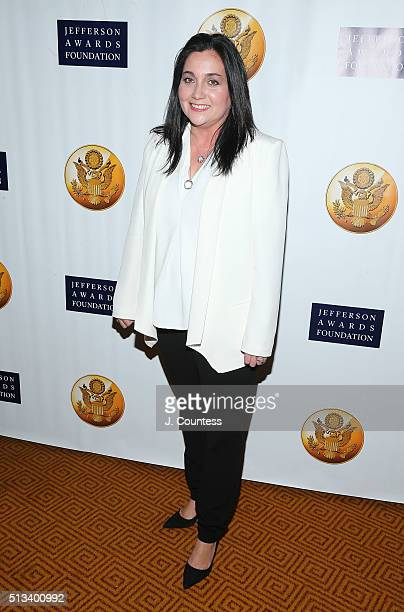 EVP of Global Employee Success at Salesforce Cindy Robbins attends the Jefferson Awards Foundation's 5th Annual NYC National Ceremony at Gotham Hall...
